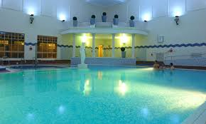 The swimming pool at Belton Woods Health Club, Lincolnshire